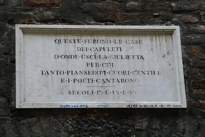 Verona: Romeo & Juliet
