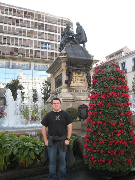 A square in Granada