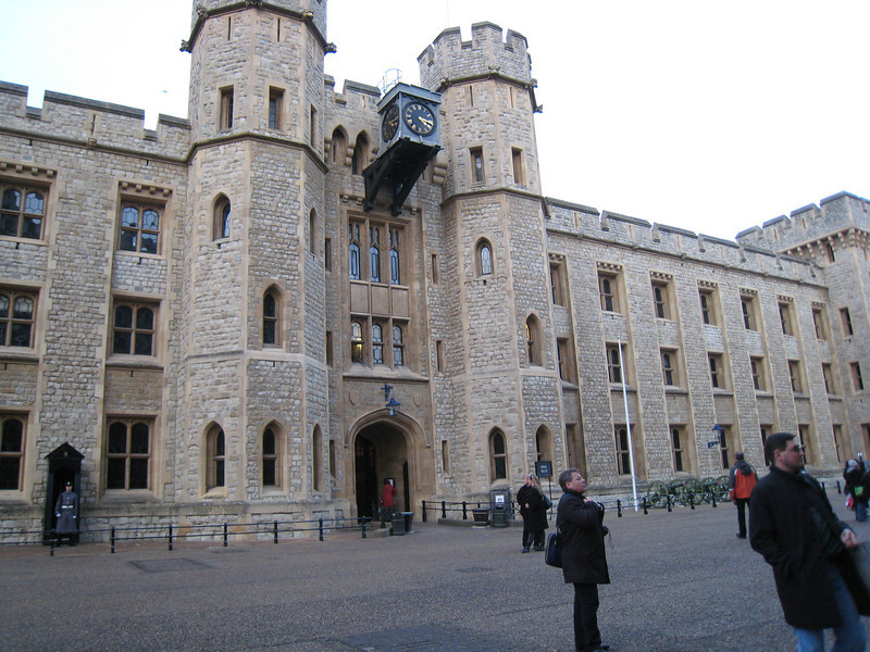 The Tower of London was my favorite touristy attraction on the trip