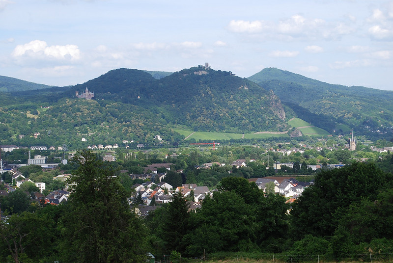 view from the house in Bonn