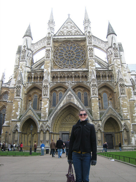 A church at Westminster Abbey