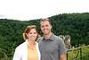 Kate and Christopher at Burg Eltz