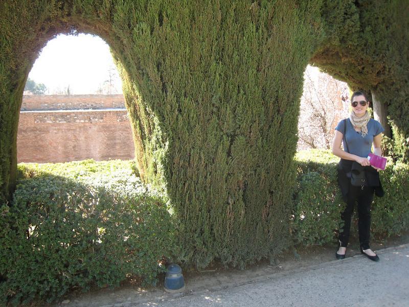 Ashli liked the arches