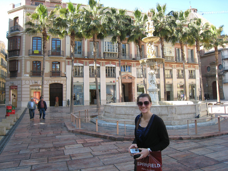 Downtown Malaga is beautiful