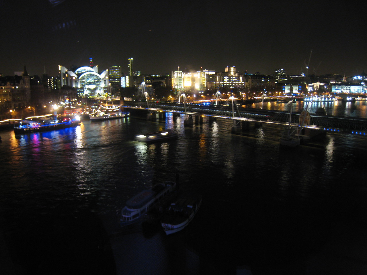 The Thames from the London Eye