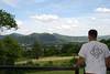 Christopher enjoying the view