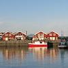 Bodo, Norway harbor.