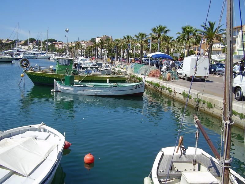 The marina in Bandol.