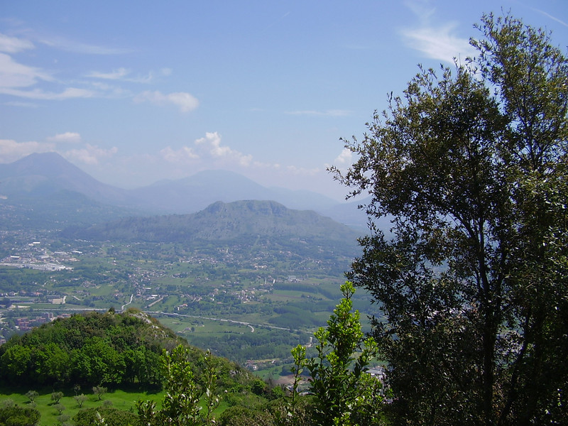 The Apennines from Monte Cassino.