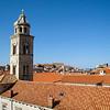 Bell tower over Dubrovnik - Dubrovnik, Croatia