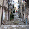 Workouts are easy when you live on a staircase - Dubrovnik, Croatia