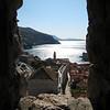 Dubrovnik through a portal - Dubrovnik, Croatia