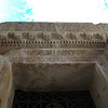 Carvings over the entrance to Jupiter's Temple - Split, Croatia