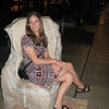 Sitting in a stone chair at the waterfront in Split. - Split, Croatia