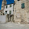 Kitty with Diocletian's Palace - Split, Croatia