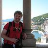 Dan in the belfry of the Cathedral of St. Dominius - Split, Croatia
