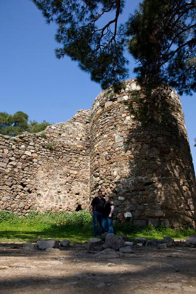 Kadifekale (velvet castle) Izmir Turkey