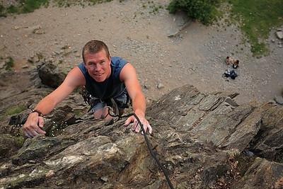 Climbing at Les Gaillands