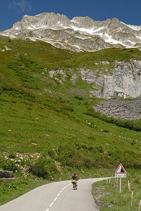 Near the summit of the Col de la Madeleine