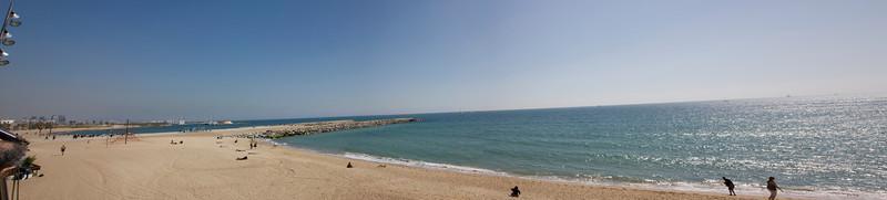 beach in Barcelona Spain