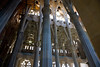 inside La Sagrada Familia Barcelona Spain