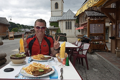 Lunch at Notre Dame de Bellecombe