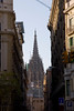 La Sagrada Familia from far away Barcelona Spain