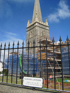 """St. Columb's Cathedral, erected 1628-1633"""