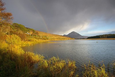 Mount Errigal Lough Nacung co Donegal ME-01