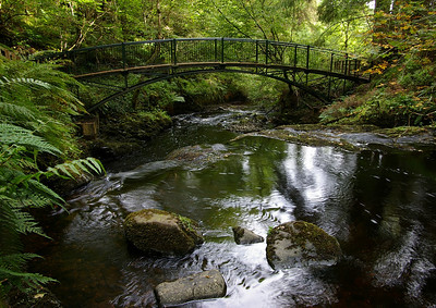 Rainbow bridge, Glenariff Forest Park co. Antrim GFP-02