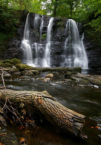 Ess-na-Crub waterfall, Glenariff Forest Park co. Antrim GFP-05