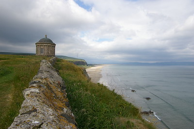 Attempt at the postcard/travel brochure shot of Mussenden Temple