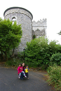 In front of Glenveah Castle