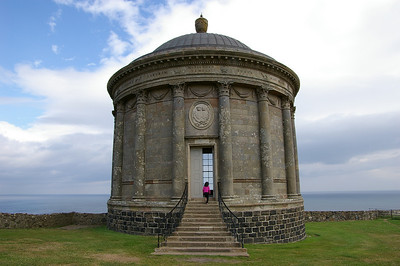 Mussenden Temple.  on Downhill Estate,