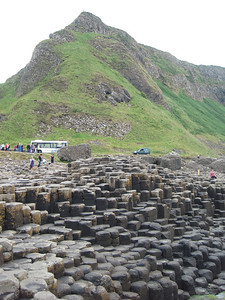 Another view of Giant's Causeway