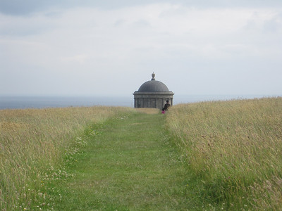 Approaching Mussenden Temple