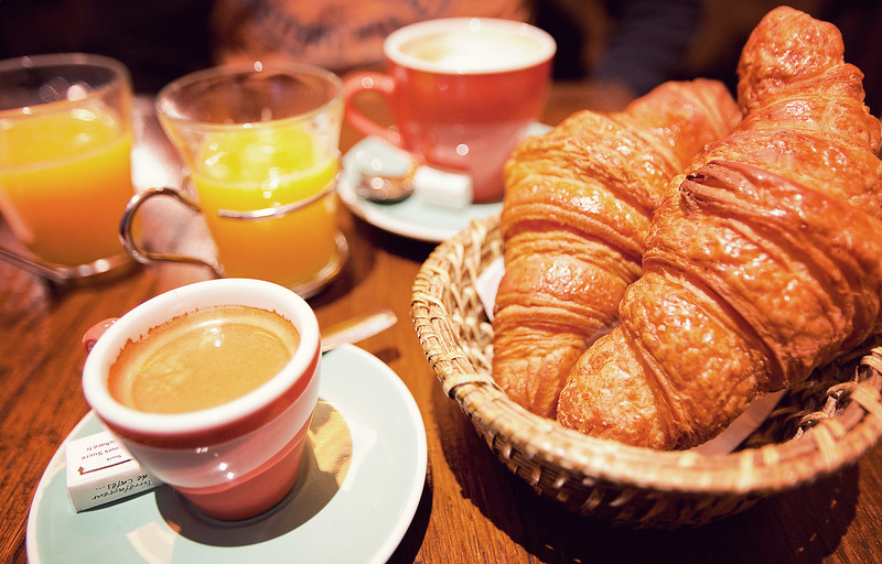 Your typical $30 Parisian breakfast.  You'd think Paris was all about the food. It is.