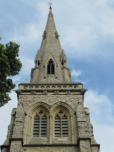 London church steeple