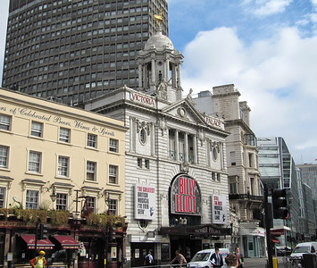 Theater district-London.