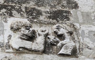 Adam & Eve - Diocletian's Palace - Split, Croatia