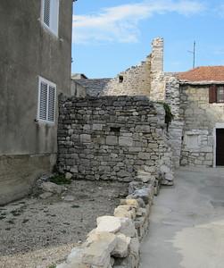 Ruins in the back yard - Stobrec, Croatia