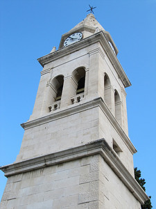 Clock tower - Stobrec, Croatia