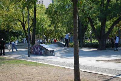 Skateboarders - Budapest, Hungary