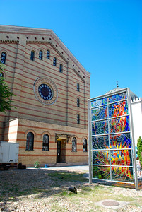 Jewish Synagogue. Budapest, Hungary