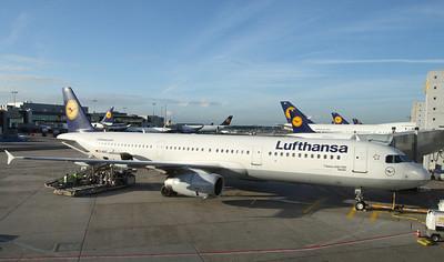 Lufthansa A321.