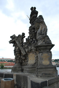 On the Charles Bridge Prague, Czech Republic