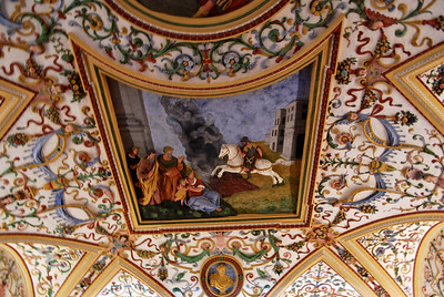 Museum ceiling - Salzburg, Austria