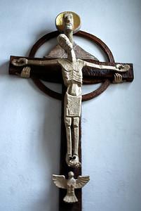 and strangest crucifix I've seen. Salzburg, Austria
