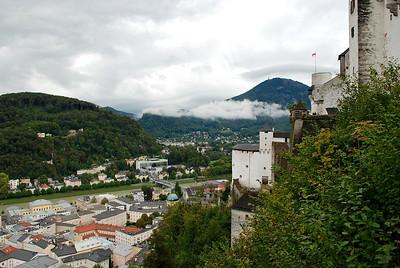 View from Salzburg Castle, Austria