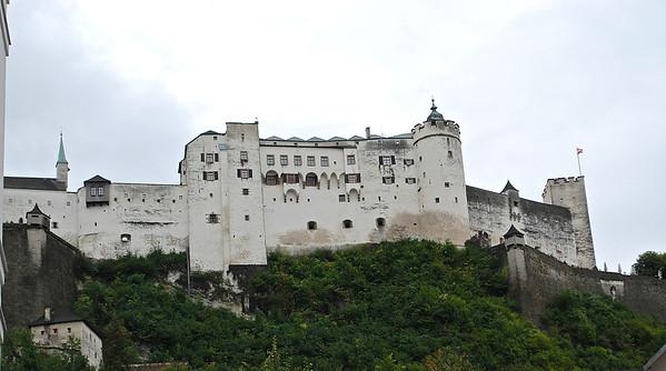 Castle Salzburg, Austria